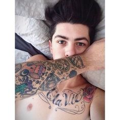 Sam Pepper Tattoos Sam Pepper Male Tattoo Dream Tattoos Tattoos For Guys
