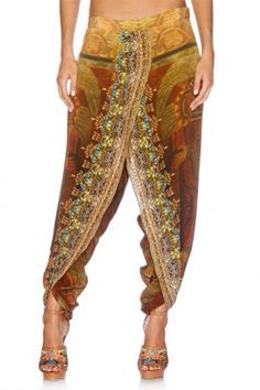 Camilla Franks Teotihuacan Trinity front wrap pants