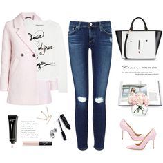 How To Wear No matter how you feel. Get up, dress up, show up and never give up. Outfit Idea 2017 - Fashion Trends Ready To Wear For Plus Size, Curvy Women Over 50 Casual Outfits, Cute Outfits, Fashion Outfits, Womens Fashion, Fashion Trends, Manolo Blahnik Heels, Cozy Fashion, Pants For Women, Clothes For Women