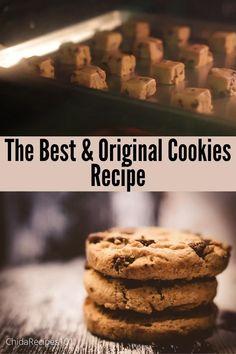 #cookies #easycookies #originalcookies #cookiesrecipe #americancookies #delicious #chocolate Best Cake Recipes, Cookie Recipes, American Cookie, Buzzfeed Tasty, Chocolate Chip Cookies, Food Videos, Baking Soda, Zucchini, Crockpot
