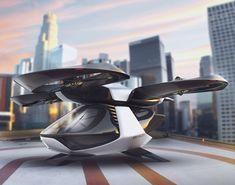 Autonomous Passenger Drone by Robert Kovacs