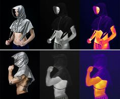 Privacy crusader Adam Harvey builds off of his last experiment with fashion as a means of confidentiality, CV Dazzle, with a new line of counter surveillance clothing termed Stealth Wear. While the CV Dazzle system focused on natural methods of cam