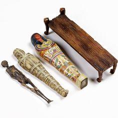 大英博物館公式販売モデル バーチャルマミー - フィギュア - プロダクト|株式会社 海洋堂