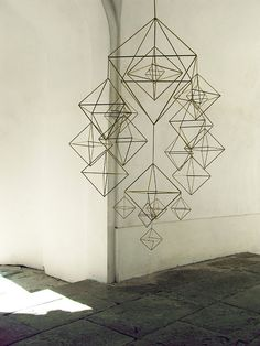 beautiful HIMMELI  brass mobile by veronikamaria on Etsy, $550.00