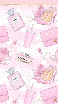 Aesthetic Pastel Wallpaper, Colorful Wallpaper, Pink Aesthetic, Aesthetic Wallpapers, Pink Wallpaper Girly, Pink Walpaper, Chanel Wallpapers, Makeup Wallpapers, Cute Wallpapers