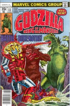 Godzilla #11, Red Ronin and Yetrigar