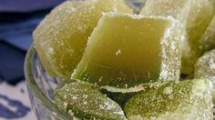 Doce de Mamão verde cristalizado | Conheça Minas