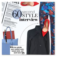 """""""60-Second Style: Job Interview"""" by anna-anica ❤ liked on Polyvore featuring Smythson, Mary Katrantzou, Dsquared2, Gianvito Rossi, Parker, jobinterview and 60secondstyle"""