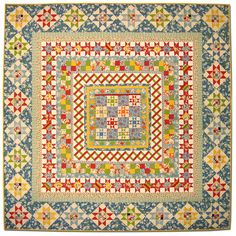 oh my, so intricate  vintage style quilt