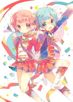 Chibi, Kawaii, Animation Art, Blue Anime, Anime Songs, Art, Anime Drawings, Anime Sisters