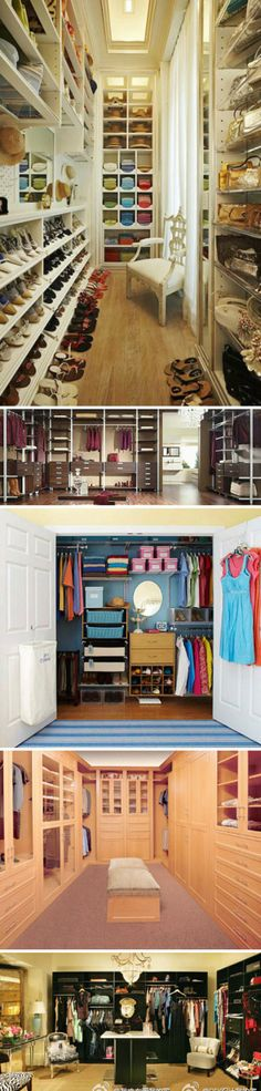 My dream is to have a huge closet :)) hopefully adam will build me one when we're done with school ;)