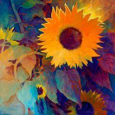 Image result for simon bull sunflowers