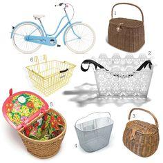 Bicycle Basket round up