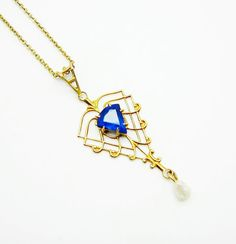 Antique Art Deco Gold Filled & Faux von SerenityHillVintage auf Etsy, $48.00
