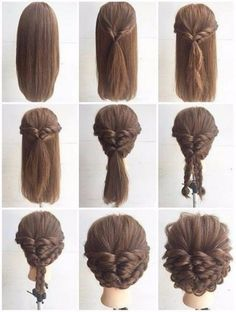 How To Do Hairstyles For Long Hair Sweet And Simple  Romantic And Easy Up Do On Naturally Curly Hair