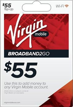 free top up cards virgin mobile pin
