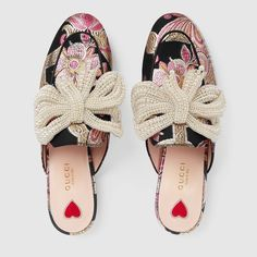 Princetown brocade slipper with bow $ 1,450