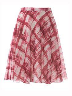 free burda pattern for classic flared skirt
