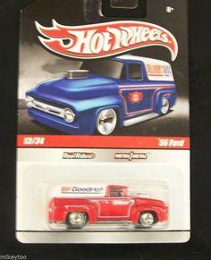 Hot Wheels - 56' Ford  #R3743 -2010 Slick Rides Series #13/34
