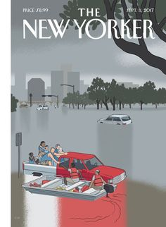 Chris Ware, a graduate of the University of Texas at Austin, singled out moments of grace as inspiration for this week's cover.