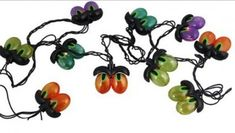 Felices Pascuas Collection Set of 10 Multi-Color Spooky Eyeball Halloween Lights - Black Wire Halloween Eyeballs, Halloween Trees, Cute Halloween Costumes, Halloween Home Decor, Creepy Halloween, Halloween Season, Halloween House, Halloween Decorations, Christmas Decorations