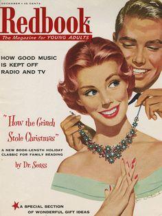 December 1957 REDBOOK cover.