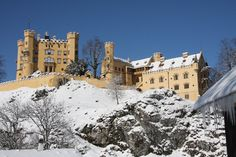 I had the wrong one before...that was Hohenzollern and that's on my list of places to go, not places I've been.  This is Hohenschwangau in Bavaria, right next to Neuschwanstein, near the town of Fussen.