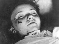 a dead Jewish girl from Lodz Ghetto Allied Reaction Regarding the Holocaust During 1942 http://www.HolocaustResearchProject.org