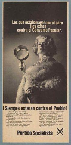 Partido Socialista, Elecciones parlamentarias 1973 Propaganda Art, Political Posters, Old Ads, Movie Posters, Wood, Historical Photos, Antique Photos, Poster, Historia