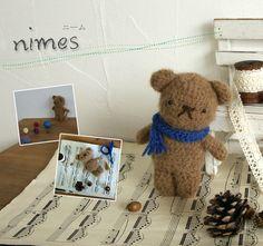 Nimes Amigurumi Bear ~ Free PDF Japanese Chart