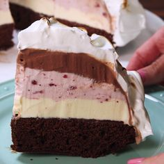 Craving Baked Alaska? Put those gourmet brownies and ice cream from the Farm to good use!