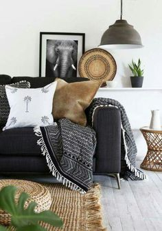 Trying to find inspiration pictures that have a gray couch as the center so that we can work around what you already have :)