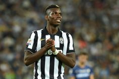 Paul Pogba of Juventus FC reacts during the Serie A match between Juventus FC and Udinese Calcio at Juventus Arena on September 13, 2014 in Turin, Italy.