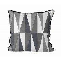 Coussin 50x50 Noir - Geometry