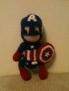 Captain America: The First Avenger - CROCHET