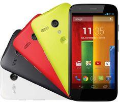 Motorola Moto G em duas versões com até 10% de desconto.