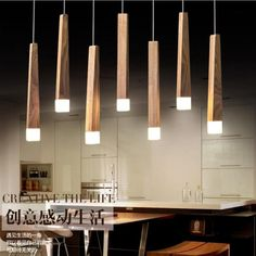 Modern Lighting Design, Interior Lighting, Wood Pendant Light, Pendant Lighting, Pendant Lamps, Crystal Pendant, Lustre Led, Vintage Industrial Lighting, Modern Industrial