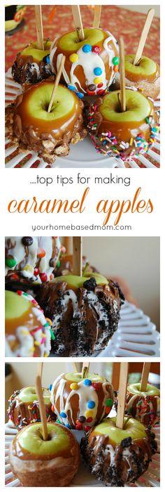 Top Tips for Making Caramel Apples..