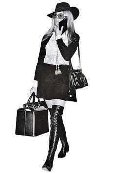 Glamorous travel - Brigette Bardot 1968
