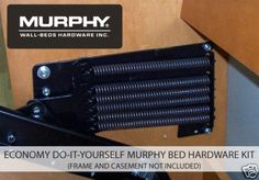 Economy Do-It-Yourself Murphy Bed Hardware Kit  #MurphyWallBeds #DoItYourself