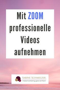 Du kannst deine Videos Aufnehmen mit Zoom - ganz einfach und super professionell. Mit dem virtuellen Hintergrund und den Powerpoint-Folien hast du zusätzliche Funktionen, die sonst nur hoch komplizierte Programme bieten. Worauf du dabei achten solltest, erfährst du im Videos.
