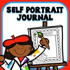 Monthly Self Portrait Journal for Preschool and Kindergarten Preschool Homework, Math Homework Help, Preschool Themes, Preschool Lessons, Preschool Classroom, Math Lessons, Abc Kindergarten, Classroom Ideas, Preschool Journals