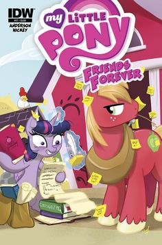 My Little Pony Friends Forever #17 Comic Cover