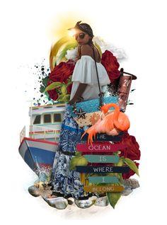 """Splish -N- Splash - Winners"" by necyluv ❤ liked on Polyvore featuring art"