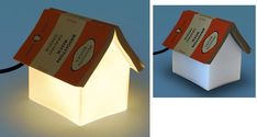 A bedside reading lamp doubles as a bookmark. I like this idea Book Lovers Gifts, Book Gifts, I Love Books, Good Books, Bedside Reading Light, Book Rest, Book Lamp, Cute Little Houses, Gifts For Readers