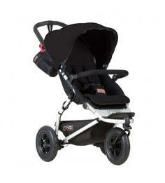 The ultra-compact fold and air-filled wheels make the Mountain Buggy Swift the ideal all-terrain, compact pram. Buy yours today at Baby Village! Stroller Board, City Stroller, Double Strollers, Baby Strollers, Mountain Buggy Swift, Double Prams, Double Buggy, Newborn Bed, Single Stroller