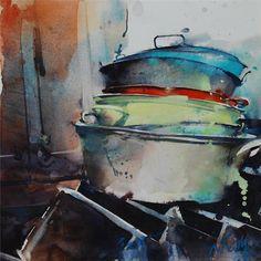 Marc Folly - watercolor