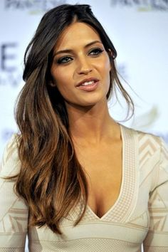 Try out a graduated layered best hairstyle for long hair like this style.