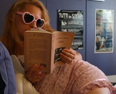 lolita, pink, and book image
