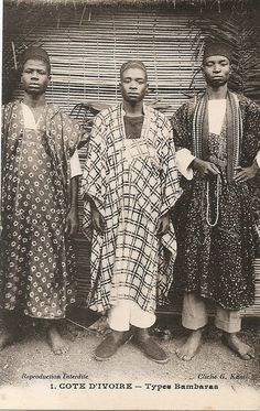 Ivory Coast circa Vintage postcard photographer G. African Life, African Culture, African History, African Women, African Origins, West African Countries, African Tribes, African Diaspora, Banana Man